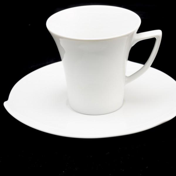 Espressotasse Elegance mit Unterteller