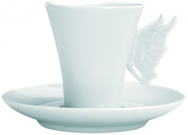 Espressotasse mit Unterteller, Angel