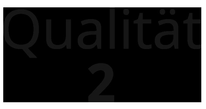 Qualität 2