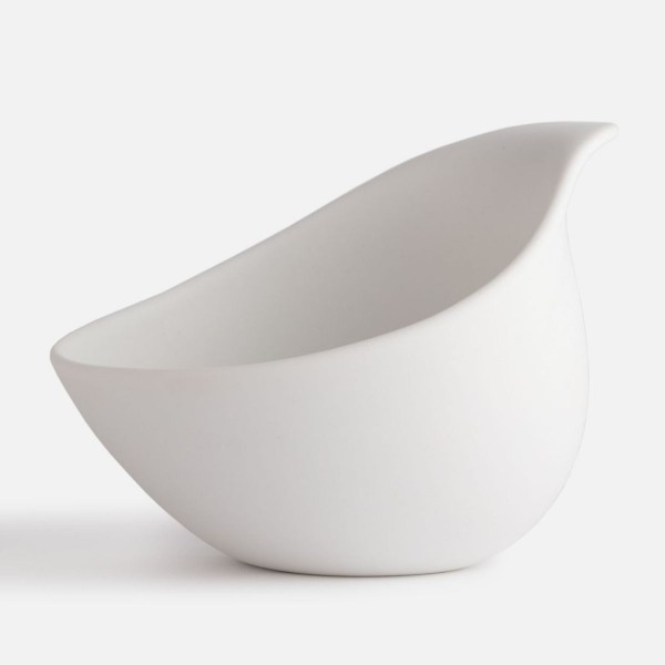 The Nest, kleine Bowl, matt weiss