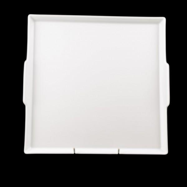 Servierplatte Haviland quadratisch