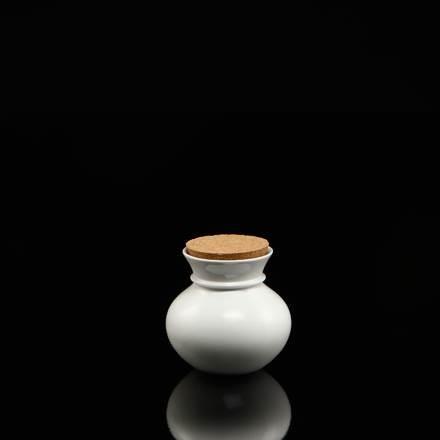 Vase Vera mit Kork, 13 cm hoch