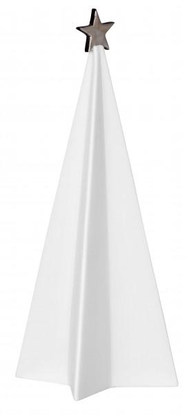 Porzellantannenset, 3 Stück, silberstern