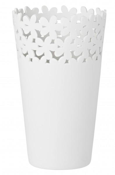 Vase durchbrochen, Blüten