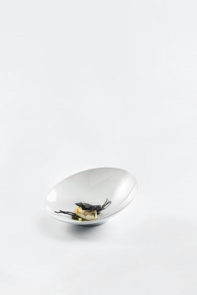 Schale schief ZEN, 28 cm